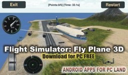 Flight Simulator Fly Plane 3D for PC Free Download Windows XP/7/8 | Android apps for pc | Scoop.it