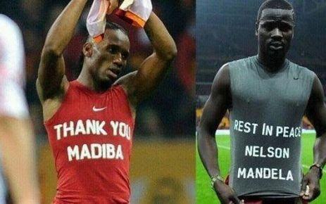 VIDEO. Drogba et Eboué menacés de sanction en Turquie pour un hommage à Mandela | Histoire Hacking entreprises | Scoop.it