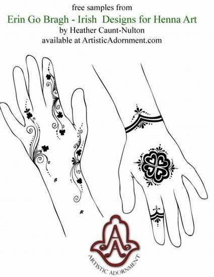Free Henna Patterns - Free Mehndi Designs - Henna Tattoo Drawings for palms, hands, feet | Year 4 Mathematics:  Patterns from Asia | Scoop.it