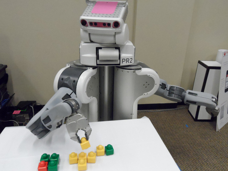 New research shows robots can learn quite a bit when fed a lot of data   leapmind   Scoop.it