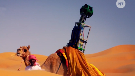 Camel Helps Expand Google Street View to Desert | Strange days indeed... | Scoop.it