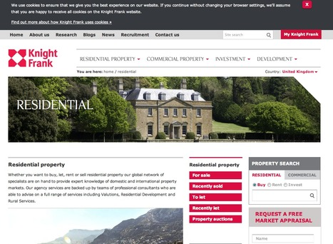 Residential Property For Sale   Knight Frank   Real Estate   Scoop.it
