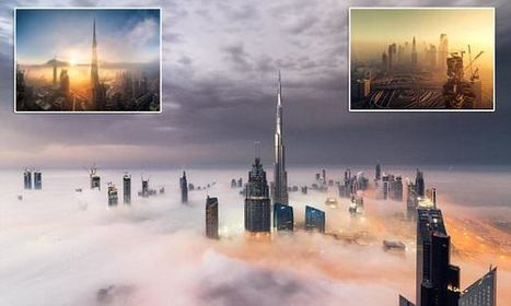 Incredible Photos Show Dubai's Dazzling Skyline Above The Fog | Everything from Social Media to F1 to Photography to Anything Interesting | Scoop.it