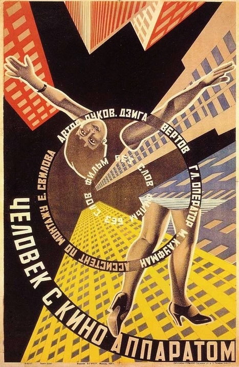 Watch Dziga Vertov's A Man with a Movie Camera, Named the 8th ... | Books, Photo, Video and Film | Scoop.it