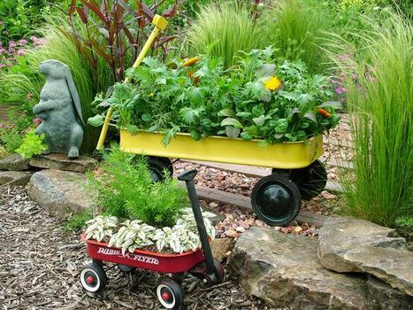 Portable gardens | Upcycled Garden Style | Scoop.it