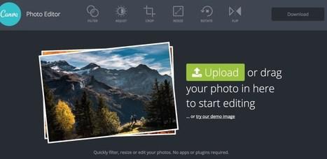 Canva Photo Editor. Un studio photo en ligne pour toutes vos images   Les outils du Web 2.0   Scoop.it