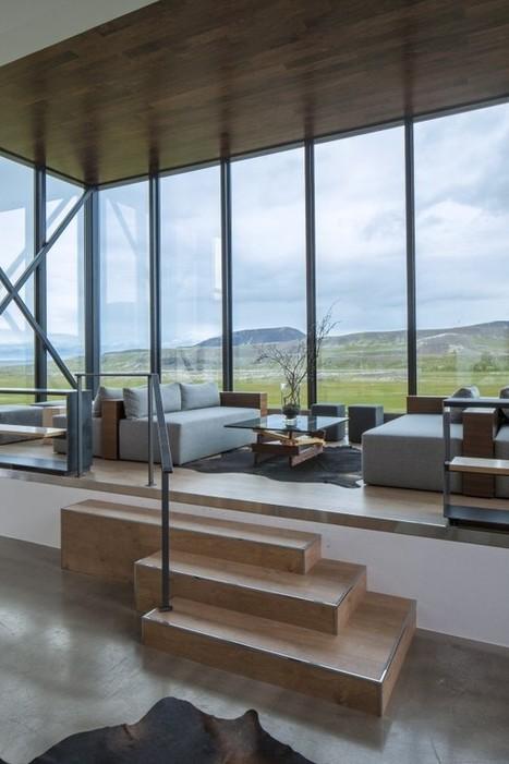 Un hôtel design surprenant en Islande   Decoration   Scoop.it