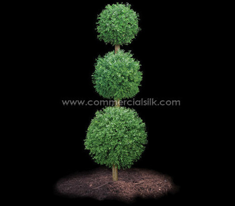 Outdoor Artificial Boxwood Topiary Ball 8' | Home Improvement - Landscaping | Scoop.it