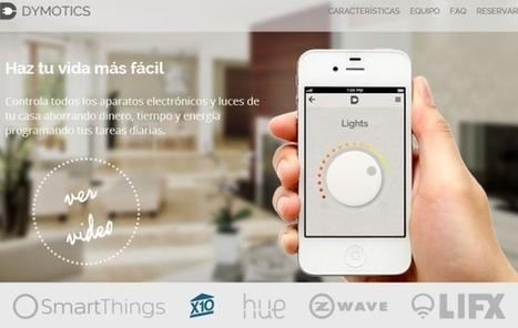 Dymotics, la app que convierte tu smartphone en un mando a distancia domótico   Educacion, ecologia y TIC   Scoop.it