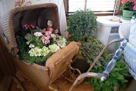 An antique garden | Upcycled Garden Style | Scoop.it
