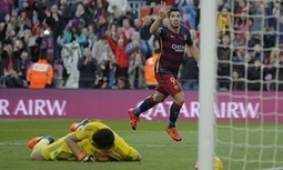 The best goals of the week: Luis Suárez, Lionel Messi and Oliver Norburn - The Guardian   AC Affairs   Scoop.it
