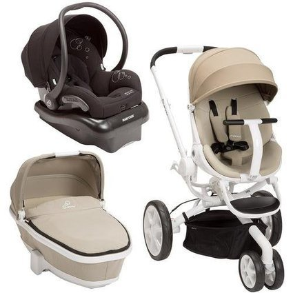 Quinny Moodd Stroller Travel System, Natural Delight/Black with Bassinet | Baby Stroller Reviews | Scoop.it