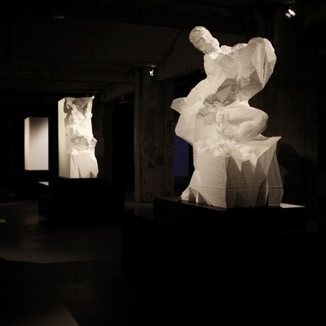 Captives by @Quayola - CG Geological Formations as Life-Size 'Unfinished' Sculptures | D+ | Scoop.it