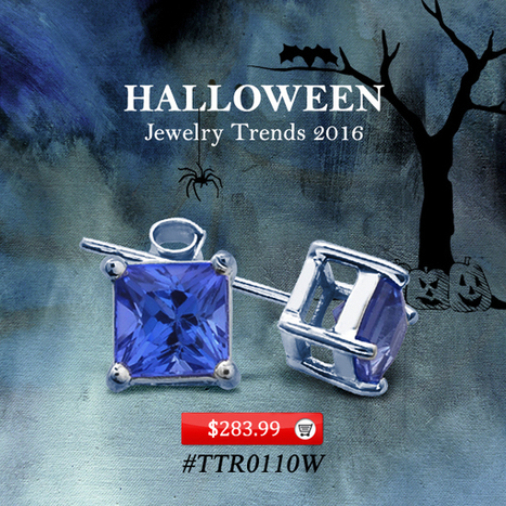 Unique Halloween Jewelry Gifts Ideas | Tanzanite Jewelry | Tanzanite Rings | Scoop.it