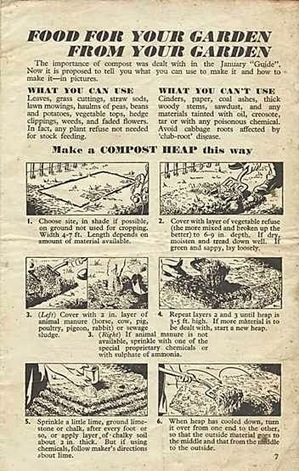 Life on Pig Row: Pig For Victory No.18: Compost Heaps | Transition and Permaculture | Scoop.it