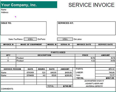 How To Make A Receipt For Payment Professional Services Invoice - Create a receipt of payment