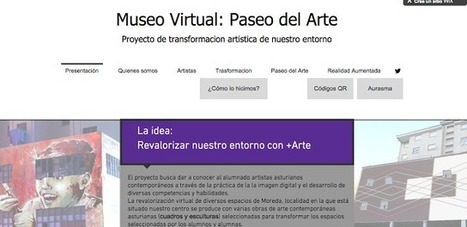 Las TIC en Plástica: Museo Virtual Paseo del Arte: Transformamos nuestro entorno con RA | REALIDAD AUMENTADA Y ENSEÑANZA 3.0 - AUGMENTED REALITY AND TEACHING 3.0 | Scoop.it