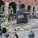 [Street Marketing] Un sous-marin fait surface au coeur de Milan | Tendances Marketing RJ | Scoop.it