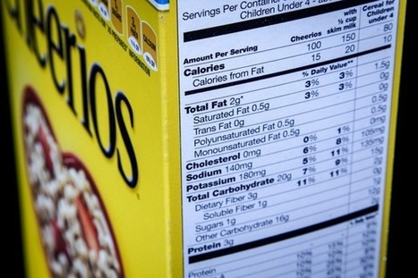 The FDA's New Rules for Nutrition Labels | INTRODUCTION TO THE SOCIAL SCIENCES DIGITAL TEXTBOOK(PSYCHOLOGY-ECONOMICS-SOCIOLOGY):MIKE BUSARELLO | Scoop.it