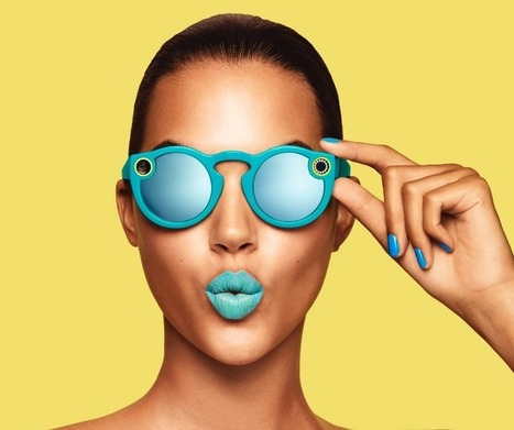 Snapchat creates Spectacles, sunglasses with a built-in video camera | Be  e-Safe | Scoop.it