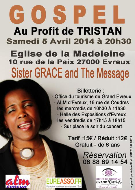Soirée Gospel le 5 Avril à Evreux - Accueil - eureasso.fr | Eureasso.fr | Scoop.it