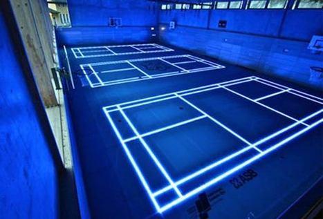 Une salle de sport futuriste façon TRON grâce aux LEDS | Cabinet de curiosités numériques | Scoop.it