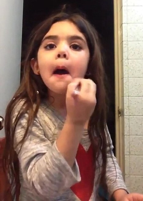 Beauty videos by five-year-old girl sharing make-up tips spark outrage | Kickin' Kickers | Scoop.it