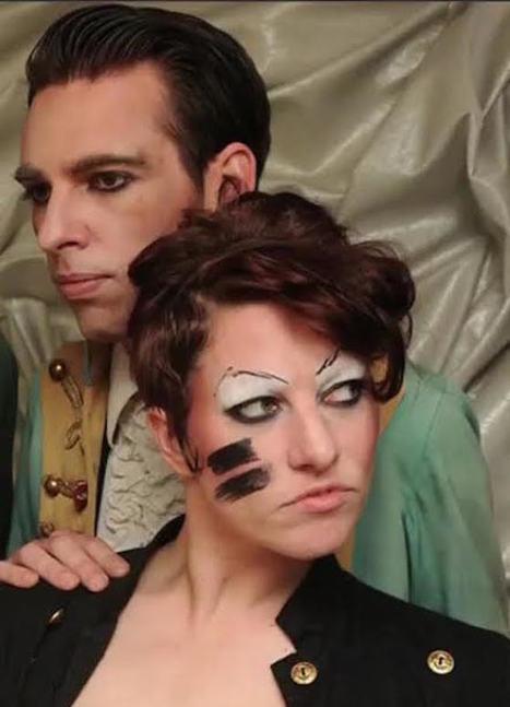 Listen to Amanda Palmer and Jherek Bischoff's David Bowie Covers EP, Featuring Neil Gaiman, John Cameron Mitchell, Anna Calvi   B-B-B-Bowie   Scoop.it