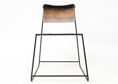 Anna Herrmann's 50 Den chair is made from old tights | What's new in Design + Architecture? | Scoop.it
