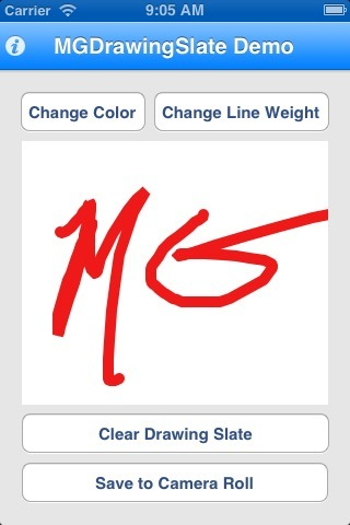 MGDrawingSlate for iOS - Cocoa Controls | PandaLit | Scoop.it