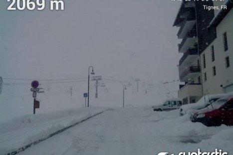 Les premières chûtes de neige de la semaine | Pyrénées | Scoop.it