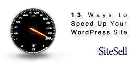 13 Ways to Speed Up Your WordPress Site - The SiteSell Blog | The Twinkie Awards | Scoop.it