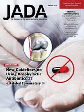 New guidelines addressing antibiotics and prosthetic joints in January JADA | Dental Implant and Bone Regeneration | Scoop.it