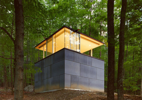scholar's library by GLUCK+ is a sanctuary in the forest - designboom | Architecture and Architectural Jobs | Scoop.it