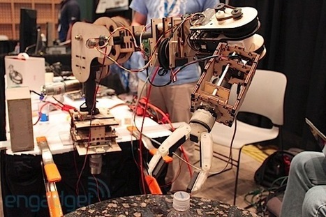 Columbia University's low-cost robotic arm is controlled by facial muscles, we go face-on (video) | Heron | Scoop.it