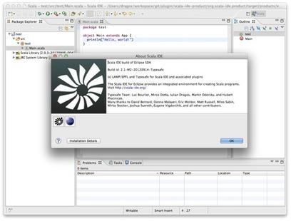 Scala IDE 2.1.0 Milestone 2 - typesafe's blog   playframework   Scoop.it