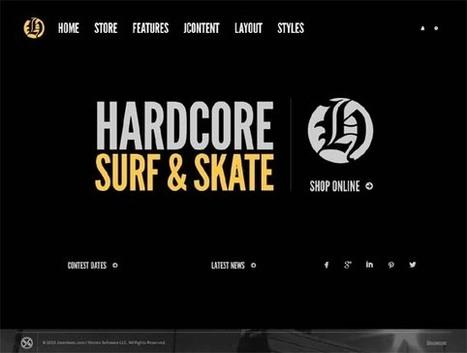 Hardcore Shop, Joomla Dark Virtuemart Template | Premium Download | Premium Joomla Templates Download | Scoop.it