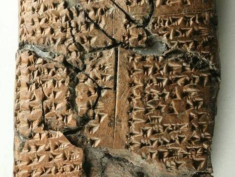 Ancient language discovered on clay tablets found amid ruins of 2800 year old Middle Eastern palace | Visual Culture and Communication | Scoop.it
