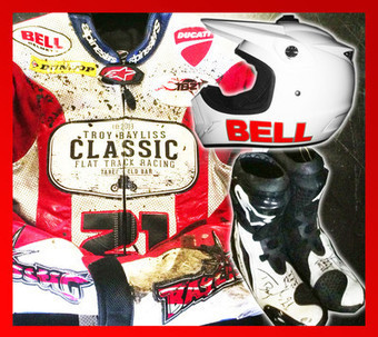 Troy Bayliss Race Gear auction  *All proceeds to Hands Across The Water Charity* | Ductalk Ducati News | Scoop.it