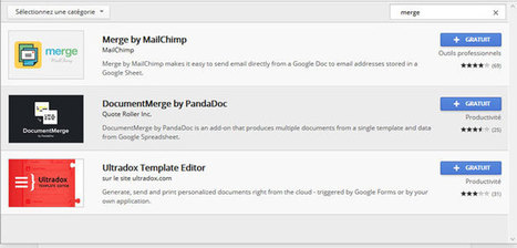 Créer et envoyer gratuitement des Newsletters sur Google Drive | The News of the Web, Design, Social Media and Marketing | Scoop.it