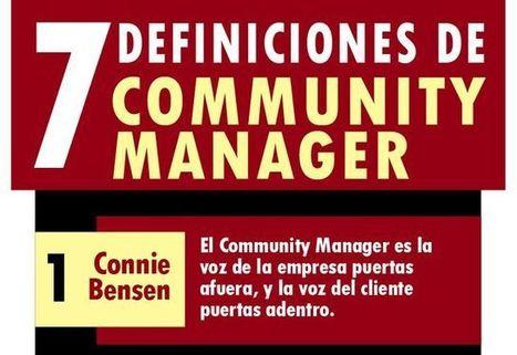 Una infografía con siete definiciones para el Community Manager | Al calor del Caribe | Scoop.it