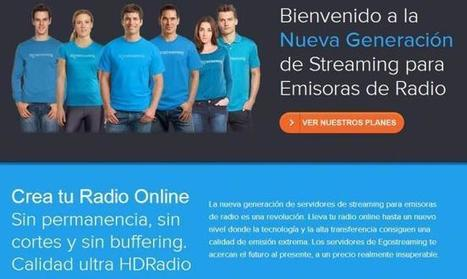 Egostreaming, para emitir radio online de manera profesional | NTICs en Educación | Scoop.it