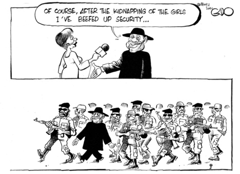 Gado: Goodluck Jonathan increases security ... For himself! | social accountability | Scoop.it