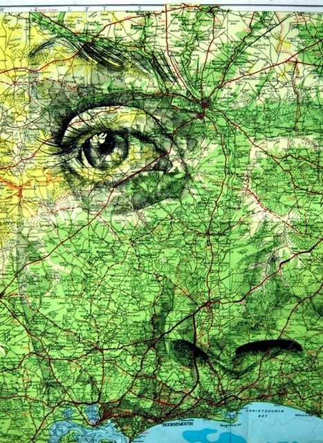 On the Map: Synchronizing Faces with Cartography - Visual News | Cartography | Scoop.it