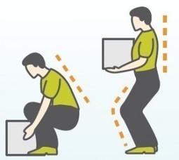 Ergonomia - Cuidados de la Espalda | Seguridad Laboral  y Medioambiente Sustentables | Scoop.it