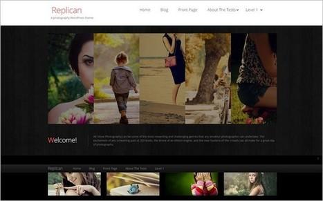 Replican - A Free Modern Photography WordPress Theme from SmallEnvelop | Free & Premium WordPress Themes | Scoop.it
