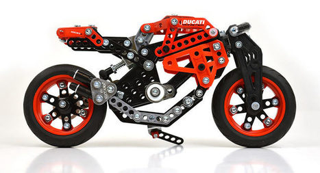 Meccano Ducati Is The Ultimate Toy Build | Ductalk Ducati News | Scoop.it