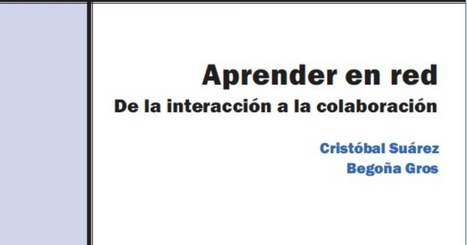 Introducción Aprender en Red.pdf | Educación flexible y abierta | Scoop.it