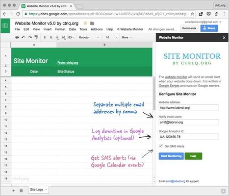 Un outil gratuit pour être alerté quand son site est hors-ligne - Blog du Modérateur | La boîte à OuTICE | Scoop.it