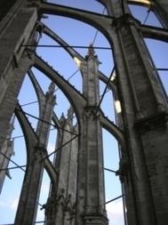 Le fer, allié de la pierre dès la conception des cathédrales gothiques | Ressources pour la Technologie au College | Scoop.it